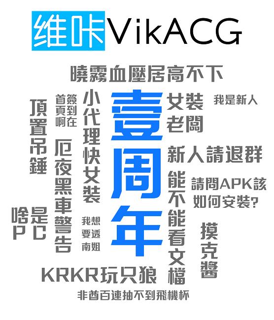 维咔VikACG一周年啦 12